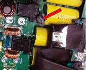 UPS Failed Capacitor