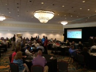 Members gather for opening FSSA session.