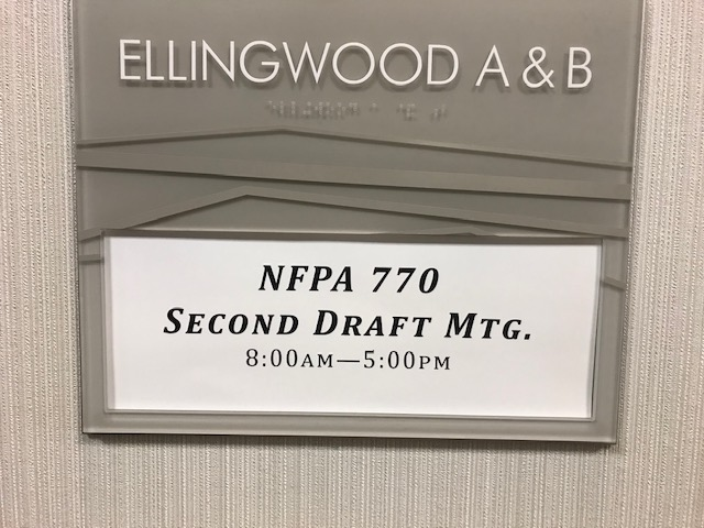 nfpa770 2nd draft